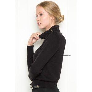 Brandy Melville Black Ardie Turtleneck Sweater